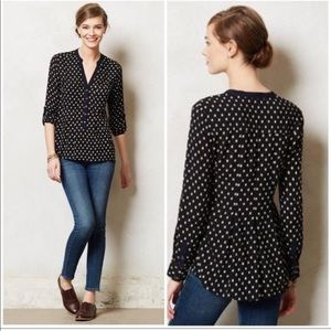 Anthropologie Vanessa Virginia Honore Blouse